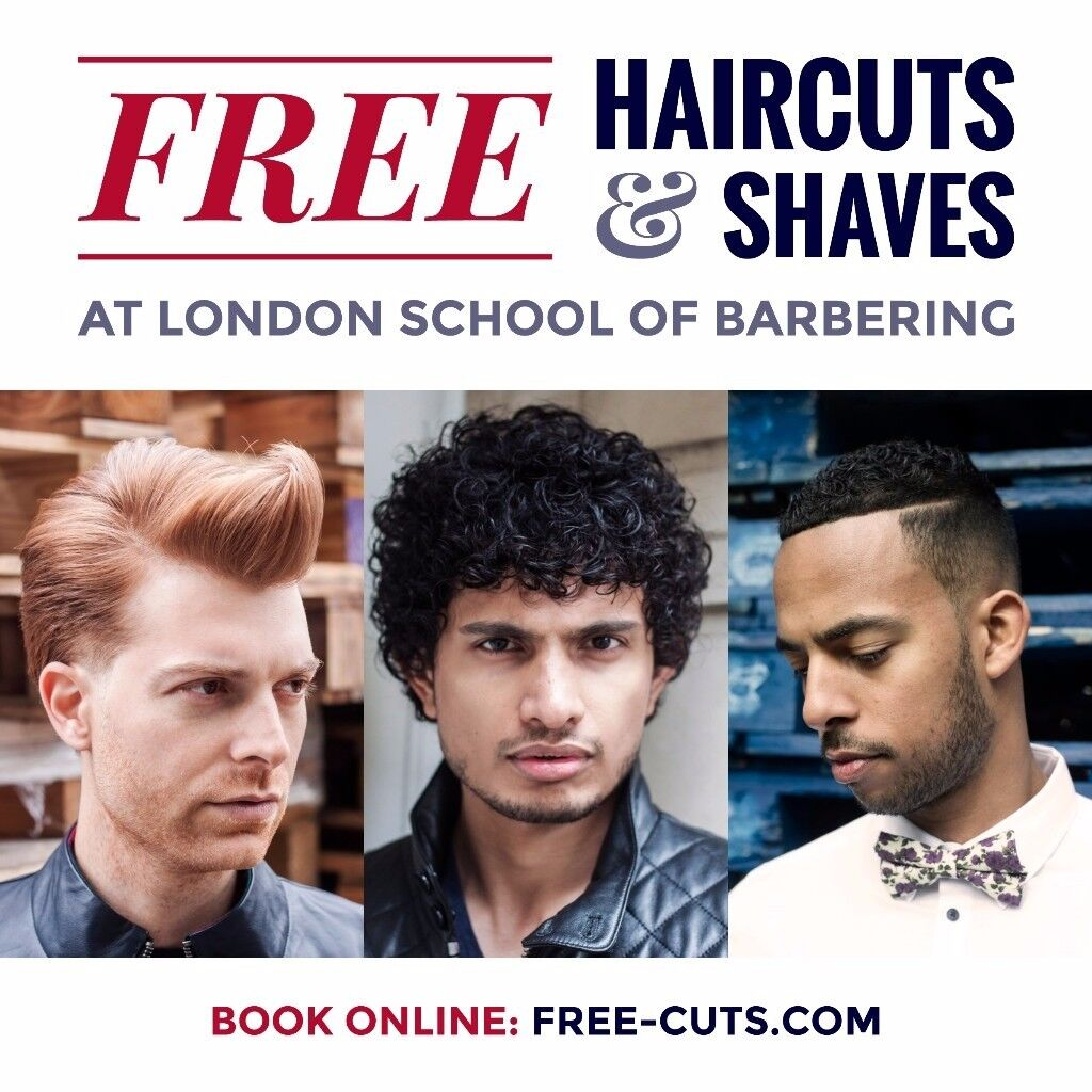 Book Your Free Hair Cut Now In City Of London
