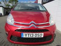 CITROEN C4 PICASSO 1.6 EDITION HDI 5d 110 BHP (red) 2013