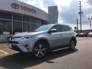 2017 Toyota RAV4 XLE AWD, MOONROOF, HEATED SEATS, BACKUP CAMERA