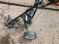 Hillbilly Electric Golf Trolley incl new 12v battery