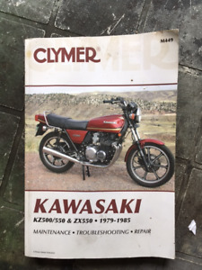 Kawasaki KZ550 Service Manual 1979-1985