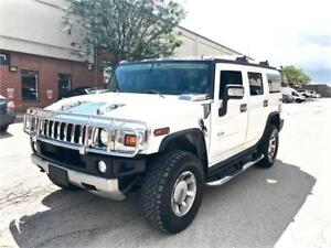 2008 HUMMER H2 SUV, NAV, DVD, 7 SEATER, ACCIDENT FREE