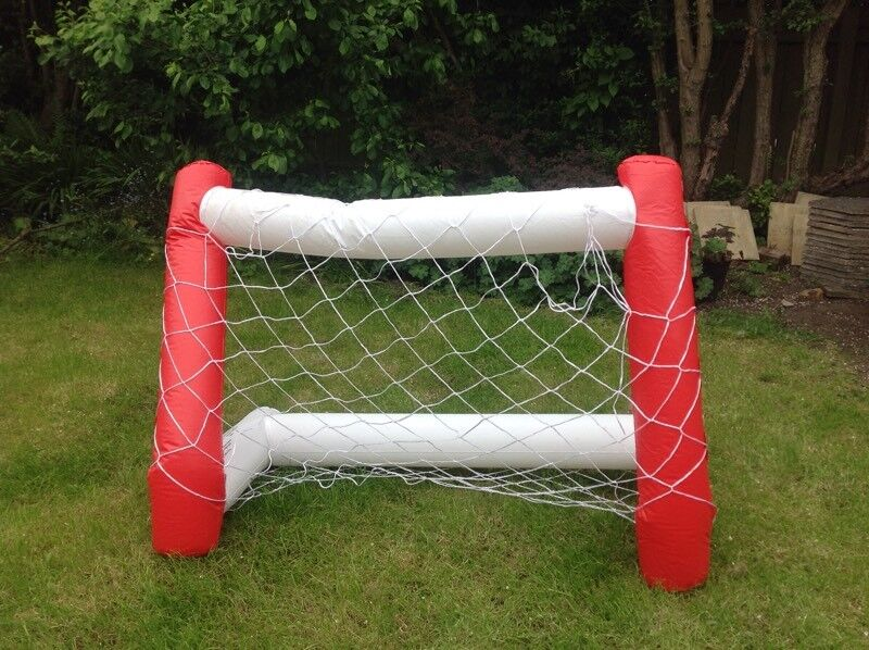 Goal net in pairin York, North YorkshireGumtree - Inflatable goal net in pair, plus a inflatable football, ideally for young kids to play