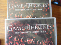 Game of Thrones series 1-4