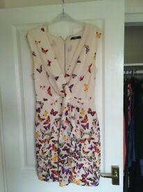 Oasis silk dress m. Size 12.