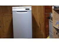 Kenwood slimline dishwasher 450-cm wide. Delivery Cambridge Area free. One month guarantee.