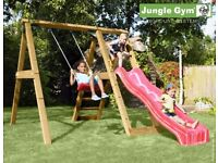 Swing And Slide Jungle Gym Peak Set