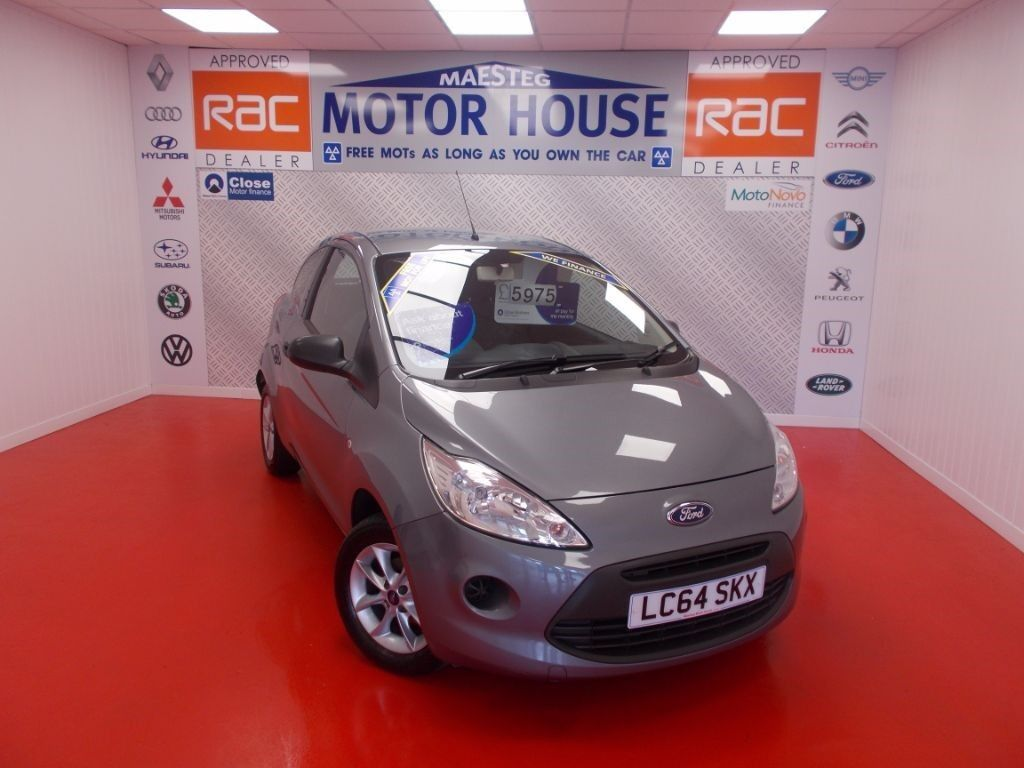 Ford KA (STUDIO PLUS)(£30.00 ROAD TAX) FREE MOT'S AS LONG AS YOU OWN THE CAR!!! (silver) 2015