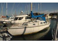 Live Aboard Sailing Boat - 30' Kingfisher - Canal/Coastal - London - River Boat - House Boat