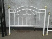 Steel king size bed in good condition, cost new £229, £25 takes it.