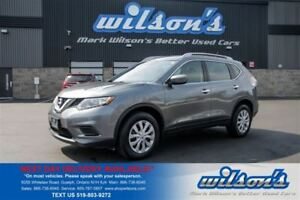 2016 Nissan Rogue S AWD! $56/WK, 5.49% ZERO DOWN! REAR CAMERA! B