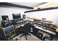 Music production and rehearsal space monthly hire 24 hour access Bristol BS2