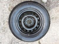 BMW 5-series E39 spare wheel Genuine 520 525 530 535 540