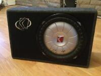 "12"" Kicker Sub & Box (NOT Alpine JBL Pioneer JL Hifonics Rockford )"