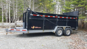 16' Bri-Mar Dump Trailer in Excellent Shape