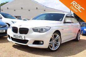 2012 06 BMW 5 SERIES 3.0 530D M SPORT GRAN TURISMO 5D BHP DIESEL - RAC DEALER