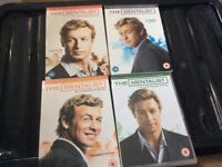 The mentalist the complete 1,2,3,4 seasons