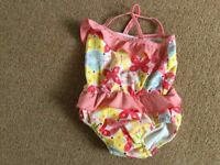 Swimming nappy costume - (6-12 months) - £3