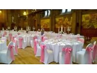 Wedding Chair Cover Hire & Sash - Special Offer only £0.99p