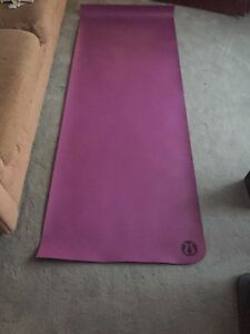 Purple lululemon yoga mat