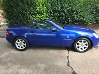 MERCEDES SLK 230 KOMPRESSOR AUTOMATIC CONVERTIBLE 2000-1 YEARS MOT-CHEAP CAR £1495