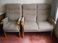 2 seater sofa and matching armchair for sale