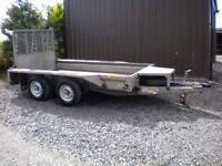 Ifor Williams GX105 plant trailer