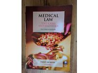 Medical Law Book £5