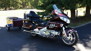 Goldwing with matching trailer for sale