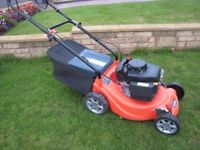 Sovereign XSZ40 Petrol Lawn Mower Self Propelled Fully Serviced SV150 Engine 40cm Cutting Width