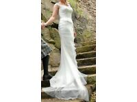 Beautiful Augusta Jones Wedding Dress Size 10