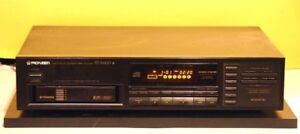 Pioneer CD Player, Changer Model PD-M430 With CD Magazine.