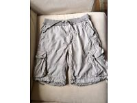 Men POLO Ralph Lauren Classic Fit short Grey 100% cotton – IN EXCELLENT CONDITION with NO damage
