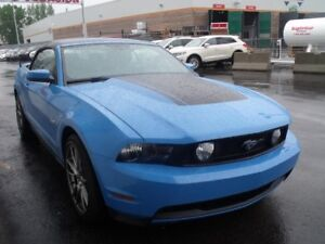2011 Ford Mustang 26836KM + GT+ CONVERTIBLE+ MANUELLE