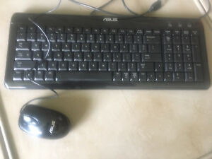 ASUS Slim Design Keyboard and Mouse - USB connected