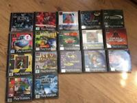 Ps1 games Job lot 25£