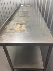 Work top table ,sink