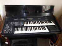 twu keyboard electric organ with stool