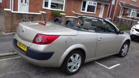 renault megane convertible mot until may 30th 2018 just had oil and filter change price reduced !!