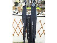 Set of 3 sonik sk4xtr 12 ft carp rods