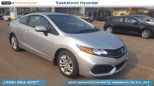 2014 Honda Civic LX PST Paid - No Accidents - Bluetooth