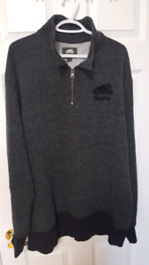 Roots Pullover zip Sweater