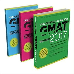 *NEVER USED* Official Guide to the GMAT Review 2017 Bundle