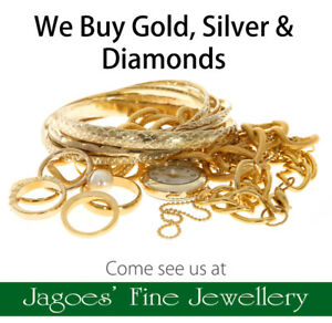 Can't sell your jewellery on Kijiji? Come see us, we pay cash!