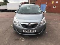 Vauxhall Meriva Exclusive CDTi Auto 2010 1.7 Diesel Top condition hpi clear