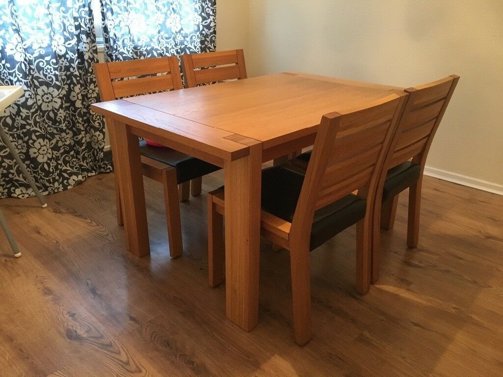 M Amp S Sonoma Dining Table Amp 4 Chairs In Llandaff Cardiff