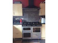 8 burner stoves range cooker and hood