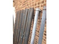 OGEE cast guttering and downrights