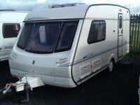 2000 abbey GTS vogue 217/2 berth end changing room with awning