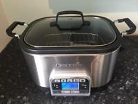 Crock Pot - Multi cooker - Slow cooker - Steamer - Sauté - Roast - Bake